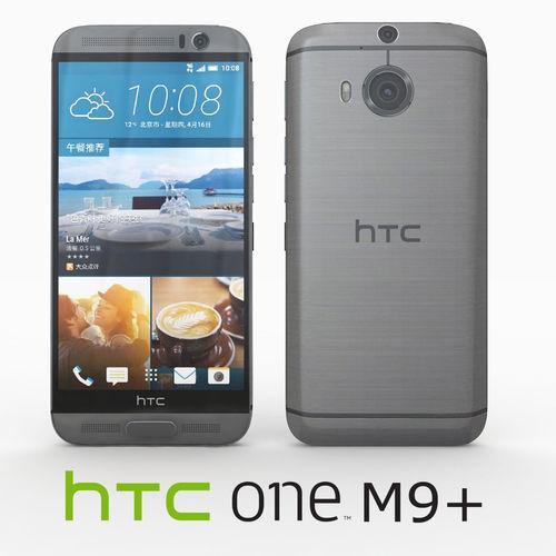 htc one m9 plus gunmetal gray 3d model max obj mtl 3ds fbx 1