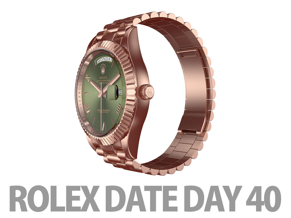 Rolex DAY-DATE 40 Watch