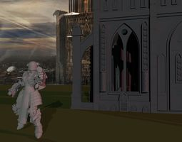 3D print model Sisters of War - Angelus B