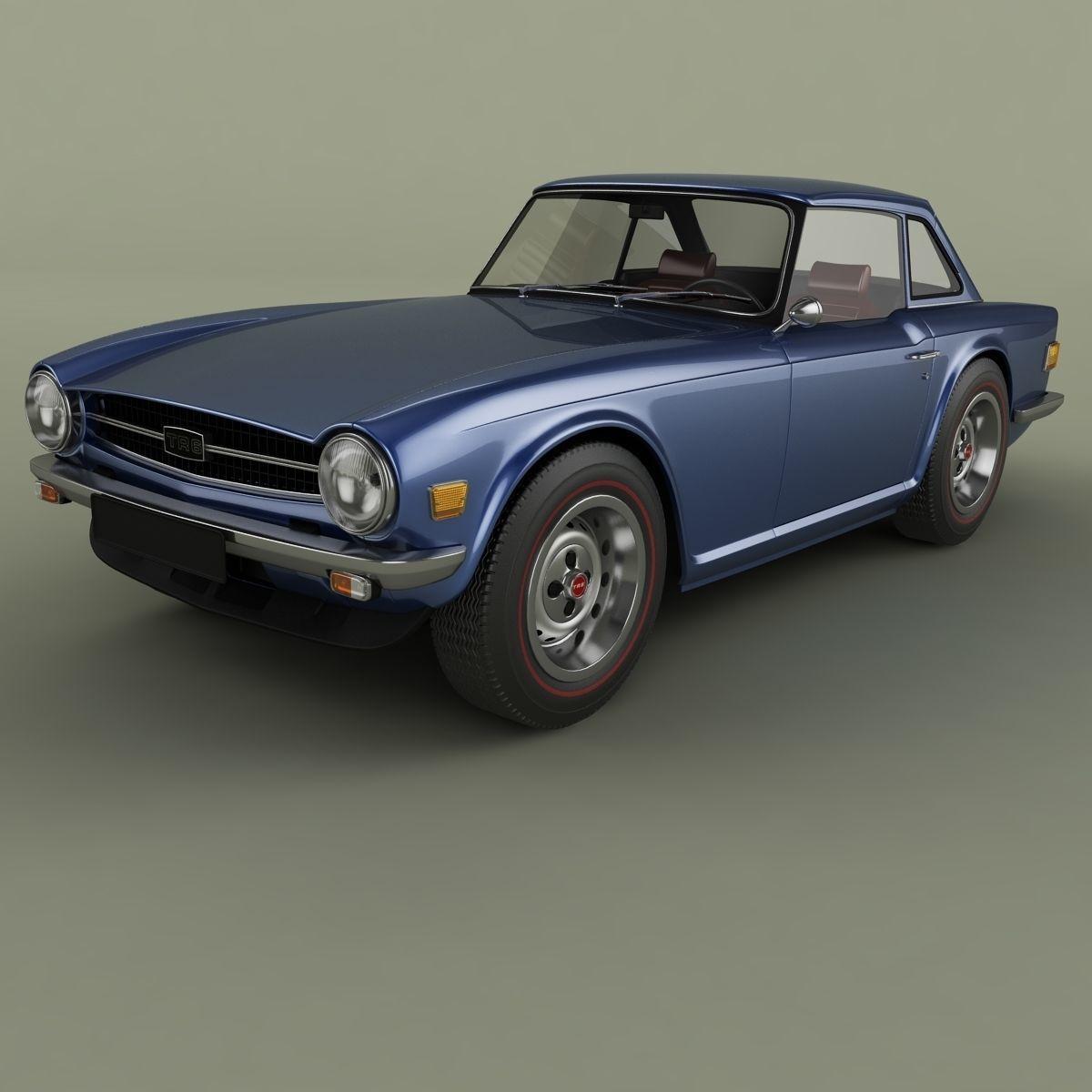 Triumph TR6 mk2 | 3D model