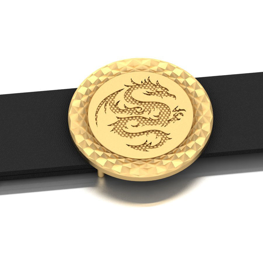 Dragon with buckle