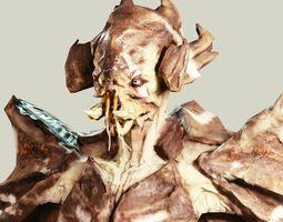 Crab Alien 3D asset