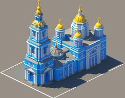 3D printable model Russian cathedral
