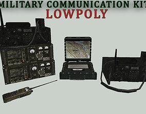 3D model Military Communication Kit Lowpoly