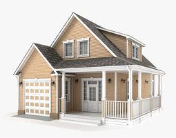 3D model Cottage 55