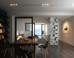 AP3 Apartment interior 3D
