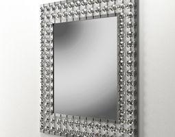 Crystal mirror 3D model