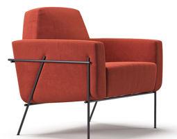 3D model Blasco And Blasco Tallin Club Chair