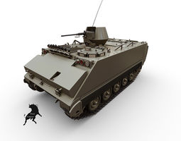 3d model m113 turkish army