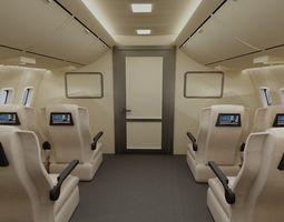 3D model Cabin of aircraft
