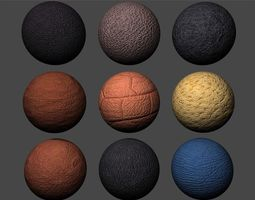Leather Textures Pack 1 3D