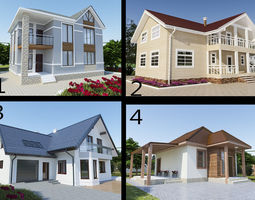 3D House 4 collection