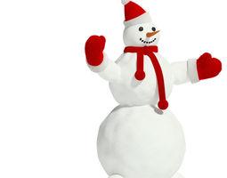 Snowman 1 3D model