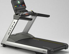 Gym Matrix T7xi Treadmill 3D model