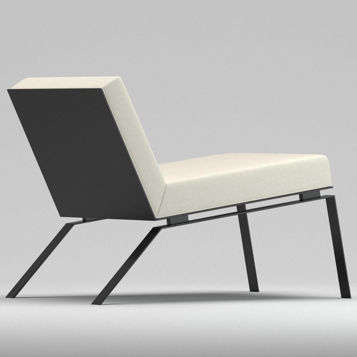 Ralph Pucci Steel Chair Robert Bristow 3d Model Max Obj Fbx Mtl 1 ...