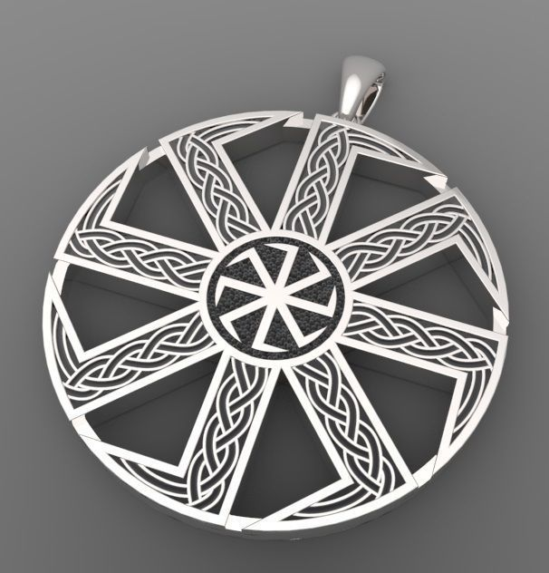 Slavic amulet   3D Print Model