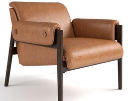 3D West Elm Stanton Chair