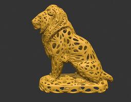 Lion 2 Sculpture 3d print model