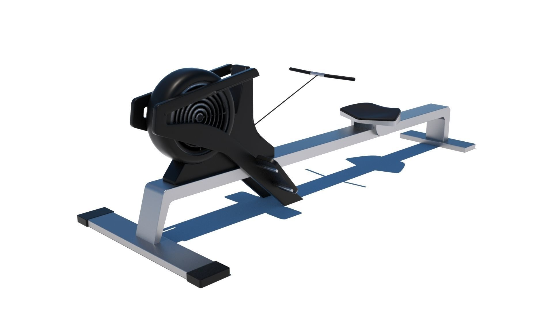 Gym Rowing Machine - Octane and Mental Ray