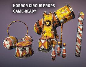 3D model Horror circus props