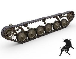 BMP-1 Tracks 3D Model
