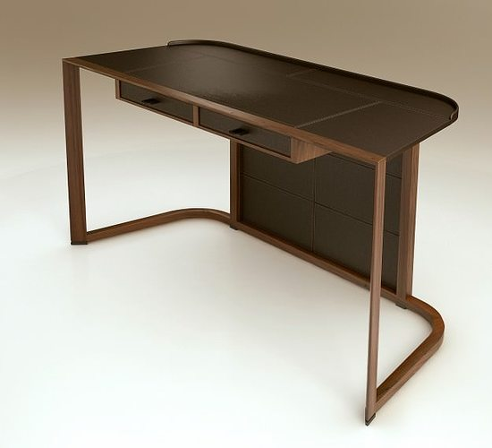 3D model Giorgetti Ion desk | CGTrader