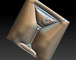 3D printable model No 18 Martini Glass
