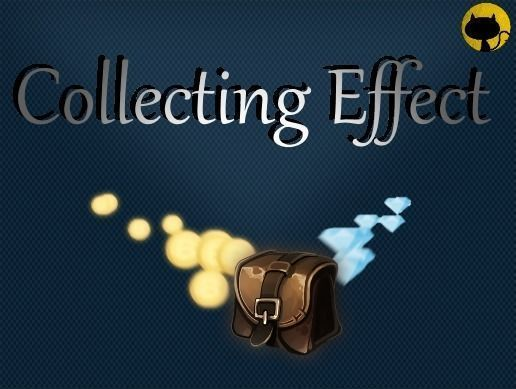 collecting effect 3d model unitypackage 1