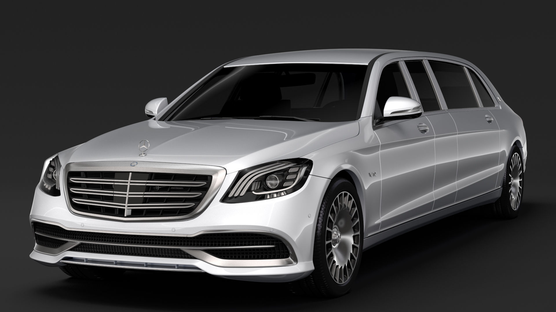 Mercedes Maybach S 650 Pullman VV222 2018