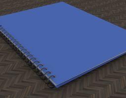 3D model School Notebook