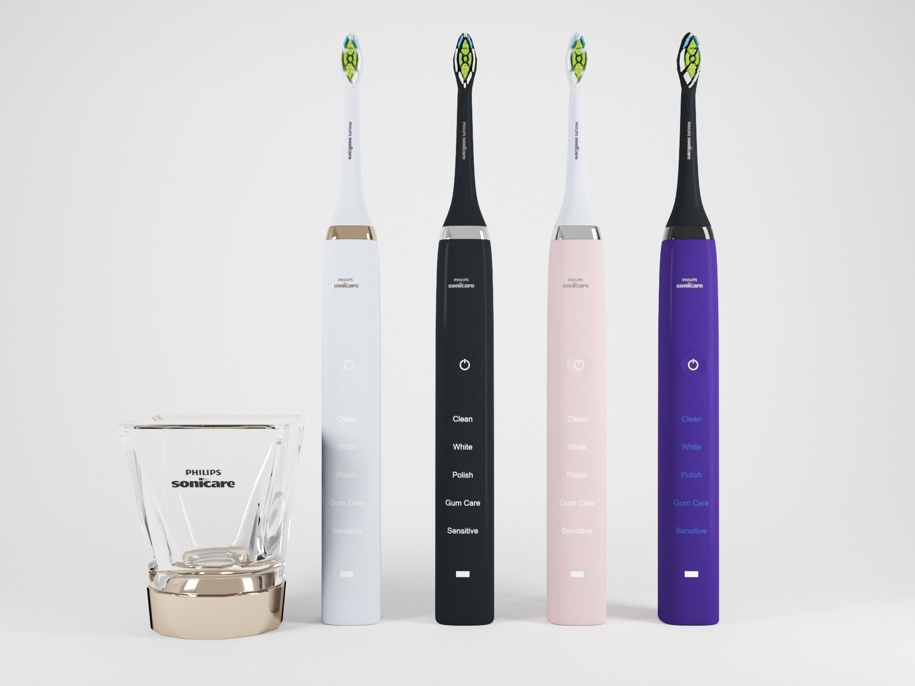 Electric Toothbrush Set
