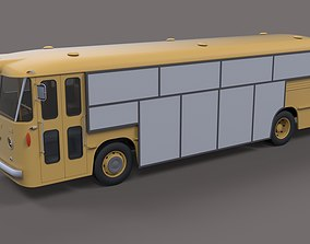 3D model Gate bus from movie Mad Max 2