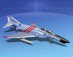 3D model McDonnell Douglas F-4J Phantom II Aust