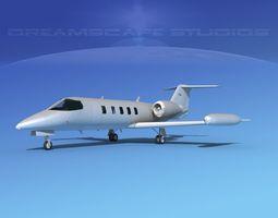 3D Gates Learjet 35 V13