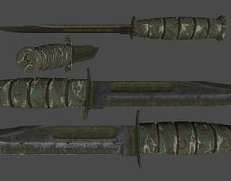 3D asset knife 7