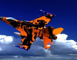 3D Falcon-f-16 Variant