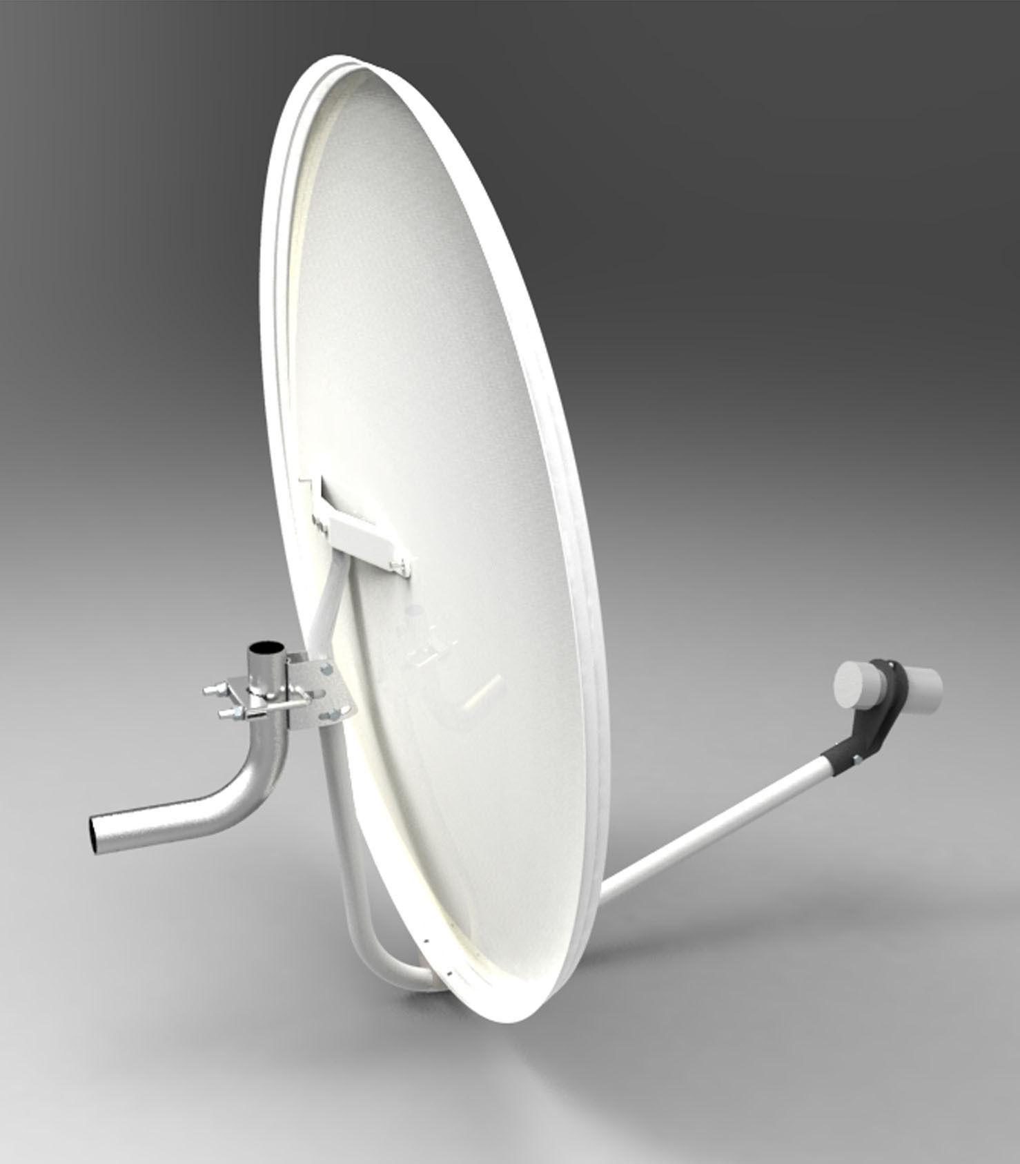 3d model satellite antenna or dish cgtrader