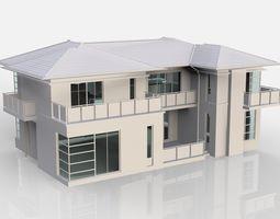 residental 3D model Building