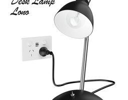 3D model realtime Desk Lamp Lono