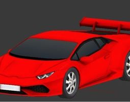Sport Car 3D model game-ready