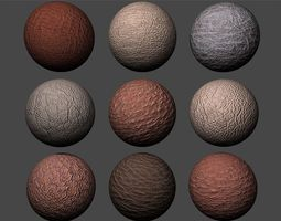 Leather Textures Pack 2 3D