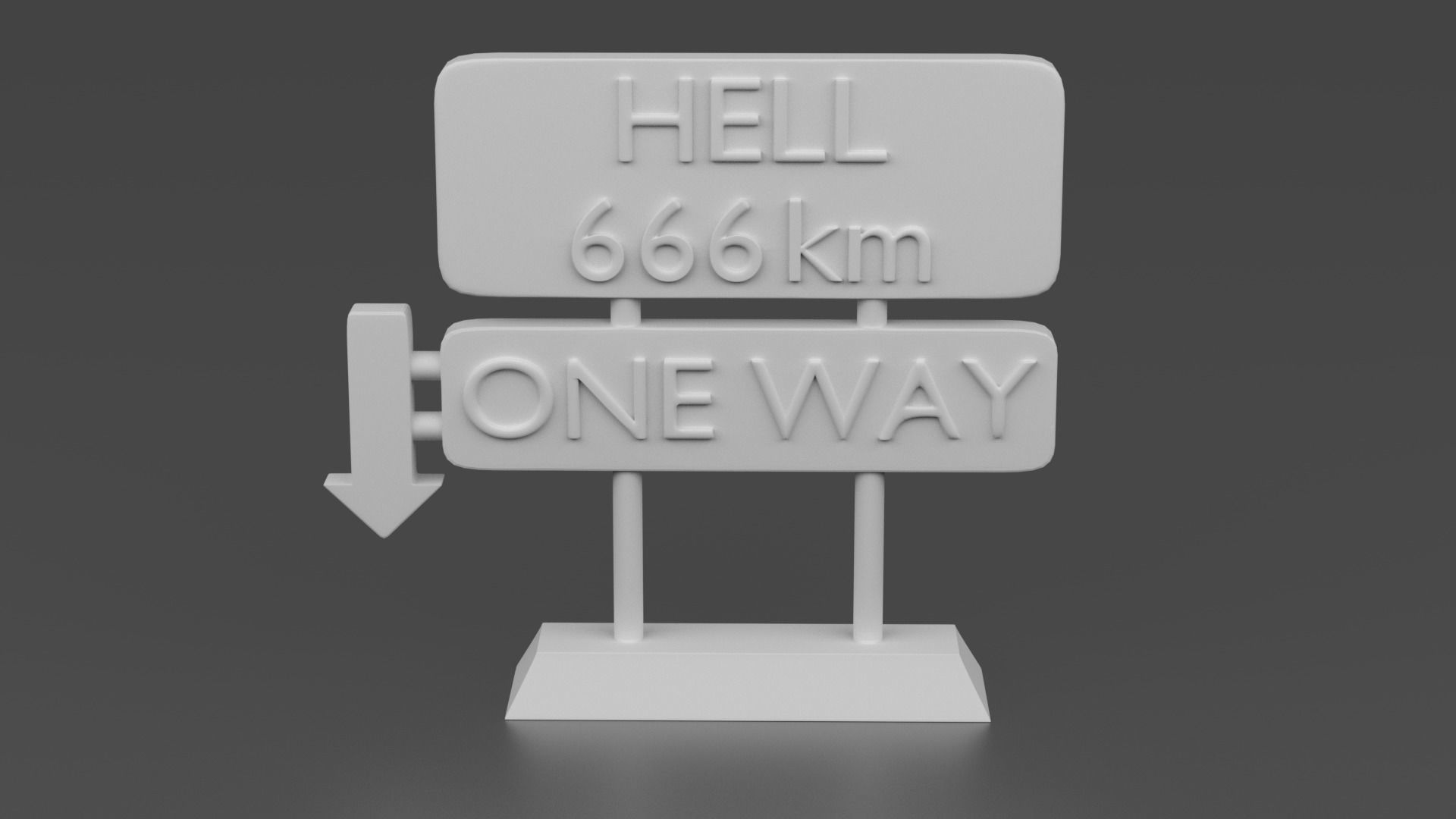 HELL Street sign