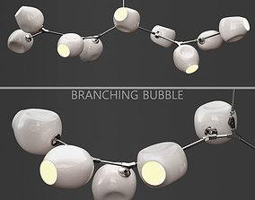 Branching bubble 9 lamps by Lindsey Adelman MILK 3D model