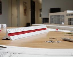 Scale Ruler 3D