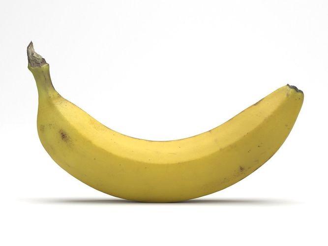 Photorealistic Banana 3D Scan