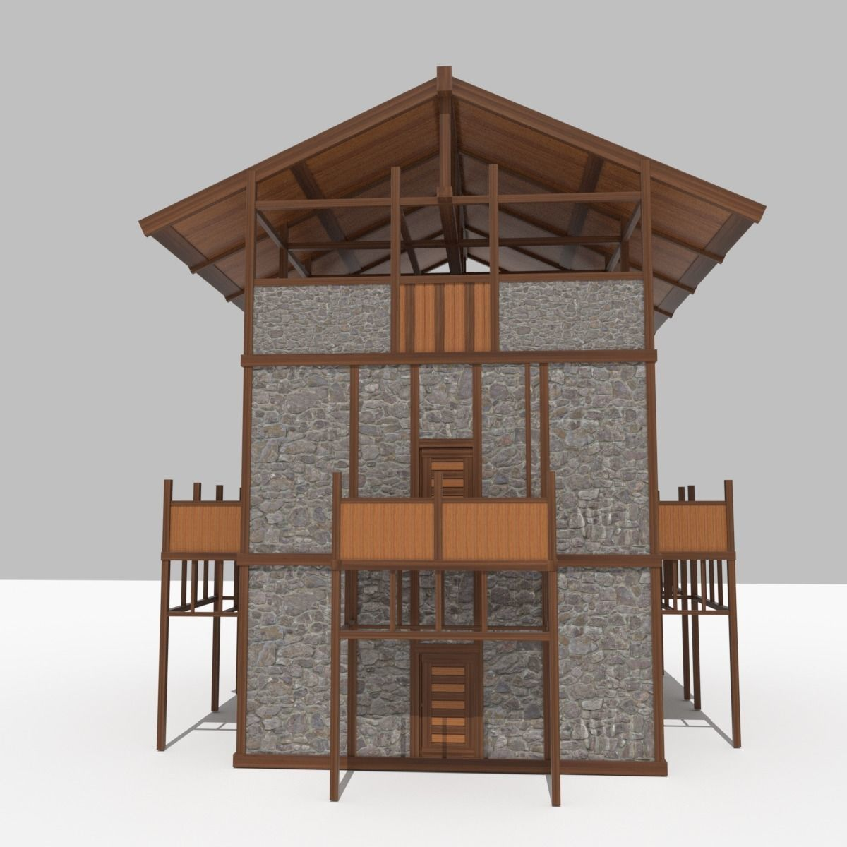 Medieval Outpost building