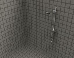 shower STEP igs solidworks 3D