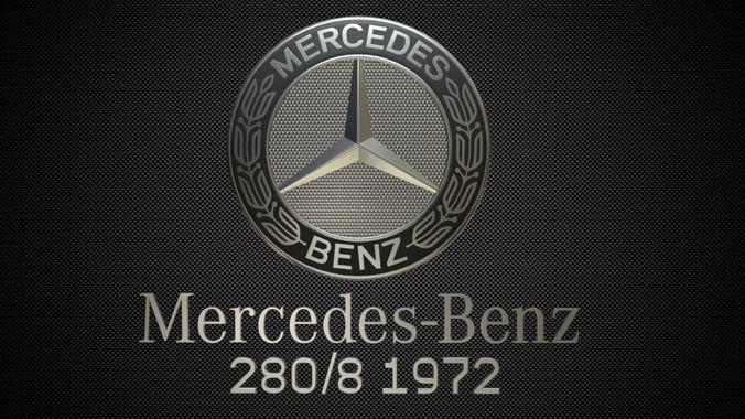 3d Mercedes Benz Logo 4 Cgtrader