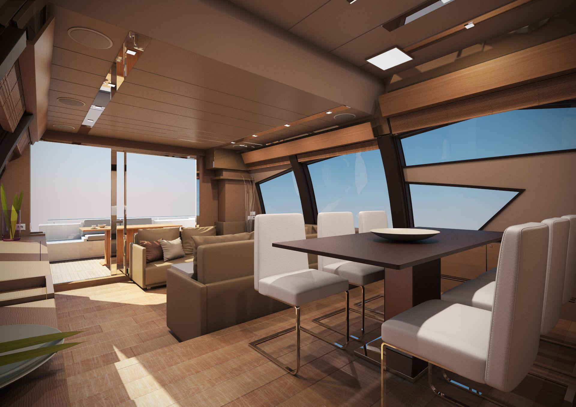 Yacht Ferretti 720