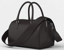 Ladies Handbag Bowler handle 3D model